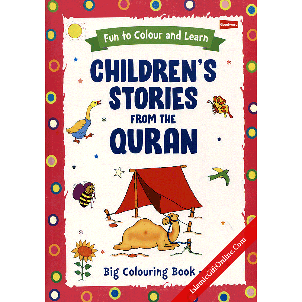 Children's Stories from the Qur'an Big Coloring Book: 1
