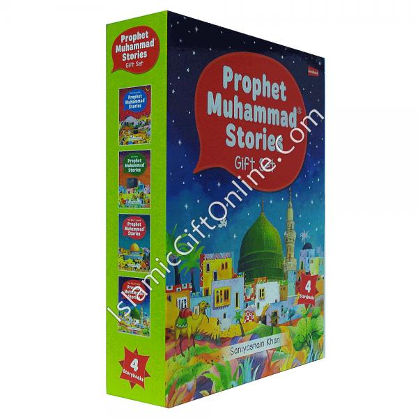 Prophet Muhammad Stories Gift Box (Four Hardbound Books in a Slipcase)