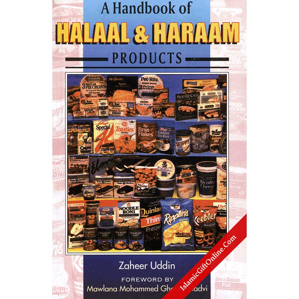 A Handbook of Halaal & Haraam Products