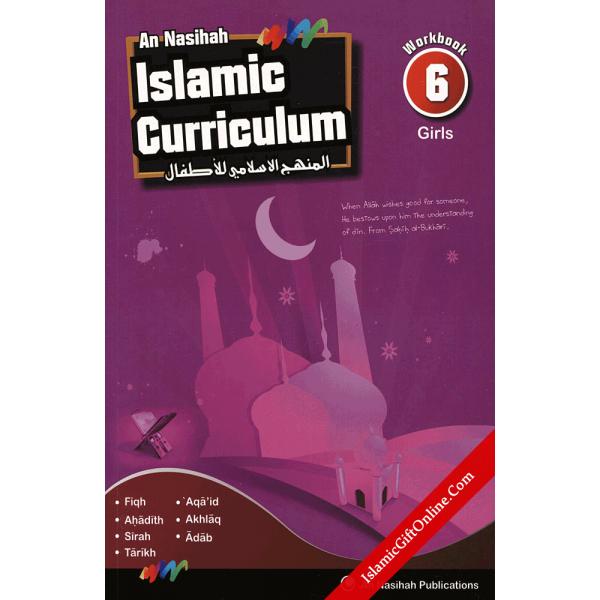 An Nasihah Islamic Curriculum Workbook 6 for girls